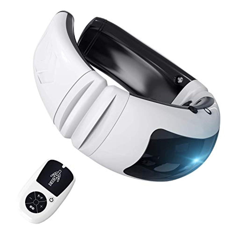 透明に分析的な適切に首マッサージャー ネックマッサージャー マッサージ器 首 肩 腰 背中 太もも 肩こり 多機能 ストレス解消 多機能家庭用&職場用&車用 健康グッズ 説明書付き USB充電式 (リモコンタイプ)