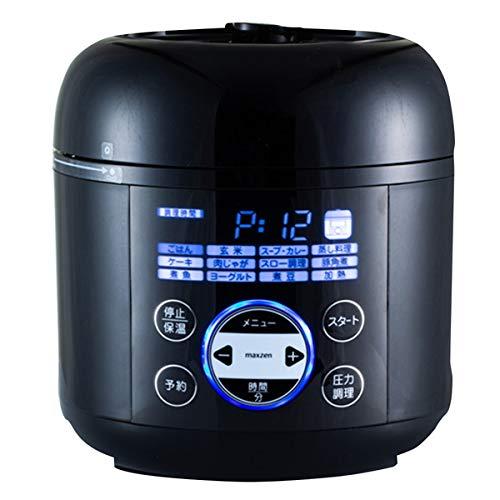 maxzen 電気圧力鍋 PCE-MX301-BK B07HRPHDKG 1枚目