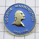 限定 レア ピンバッジ ジョージワシントン肖像アメリカ初代大統領 ピンズ フランス