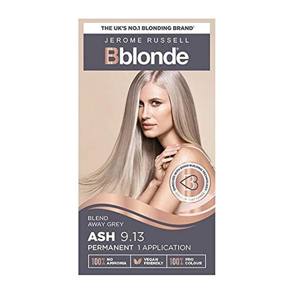 沈黙こんにちは雷雨[Jerome Russell ] ジェロームラッセルBblondeパーマネントヘアキット灰ブロンド9.13 - Jerome Russell Bblonde Permanent Hair Kit Ash Blonde...