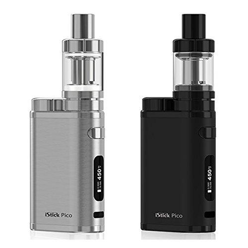 iStick Pico TC 75W kit ブラッシュドシルバー バッテリー付 電子タバコ Eleaf VAPE