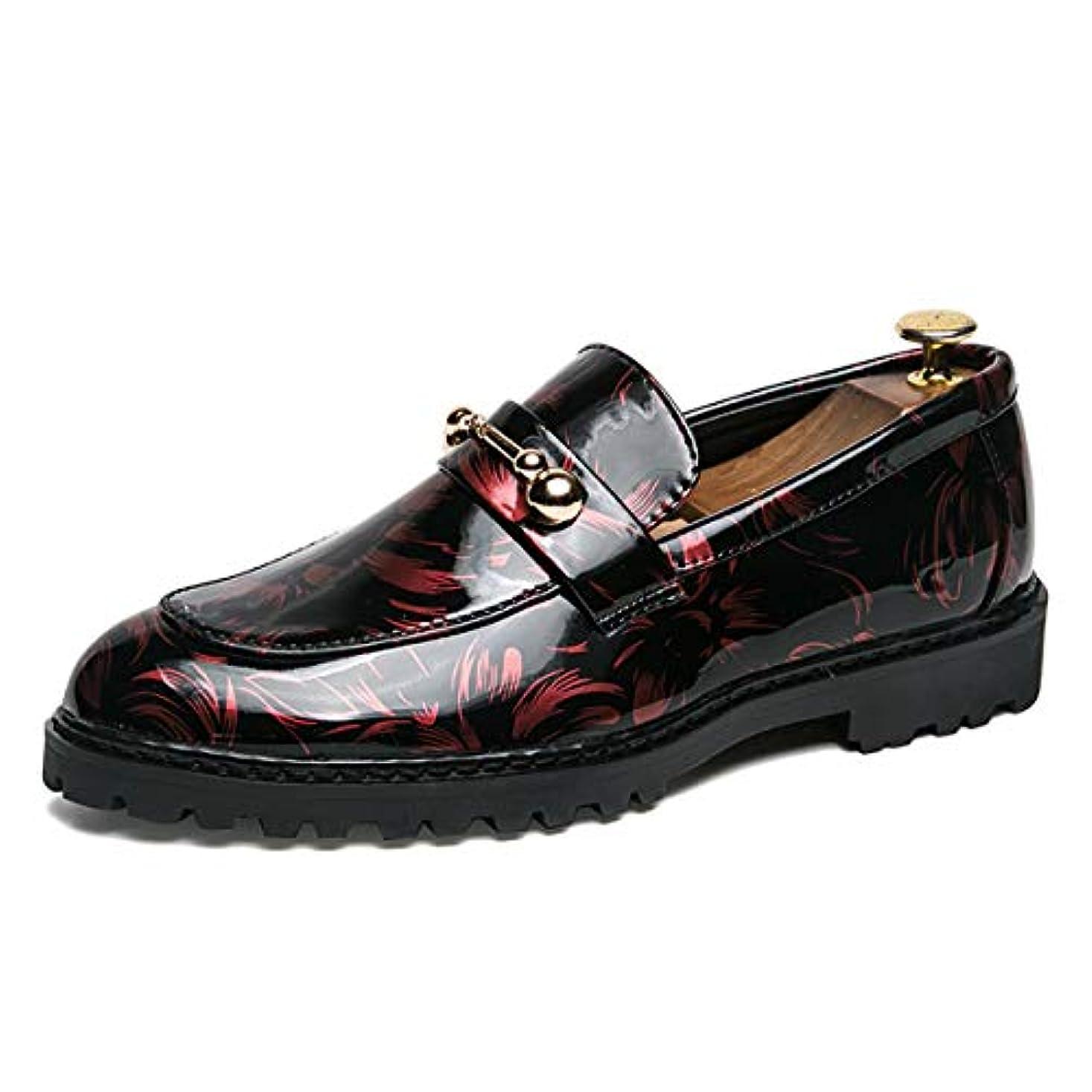 浸した直接境界[Poly] メンズシューズ レザーシューズ ドレスシューズ ビジネスシューズ カジュアル靴 紳士靴 ハイヒール エナメル ストレートチップ G-R5086