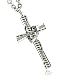 ネックレス メンズ 316L サージカルステンレス クロス 50cm チェーン Napist(ナピスト) 愛の十字架