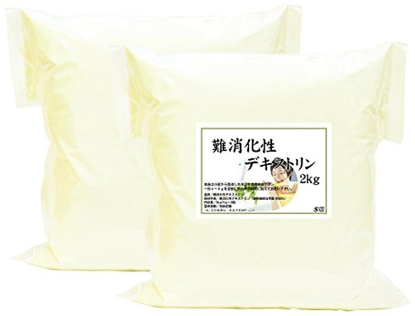 不道徳クレーターアクセスできない自然健康社 難消化性デキストリン 2kg(1kg×2袋) 密封袋入り