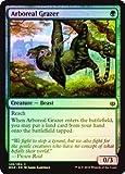英語版フォイル 灯争大戦 War of the Spark WAR 樹上の草食獣 Arboreal Grazer マジック・ザ・ギャザリング mtg