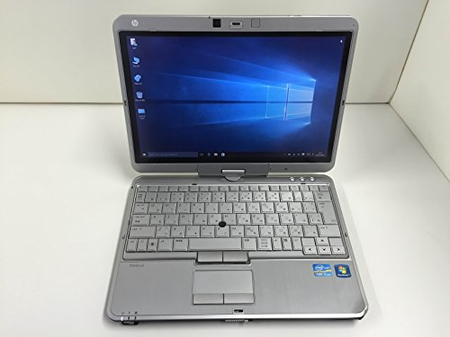 【中古ノートパソコン】HP HP EliteBook 2760p Tablet PC [QC569PA#ABJ] -Windows7 Professional 32bit Core i7 2.7GHz 4GB 320GB ドライブ なし 12.1インチ(B1111N106)