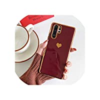 for Huawei P20 P30 Pro Mate 20 30 Pro for Honor 20 Nova 4耐衝撃保護バックカバーcapa,for Huawei P20,T1