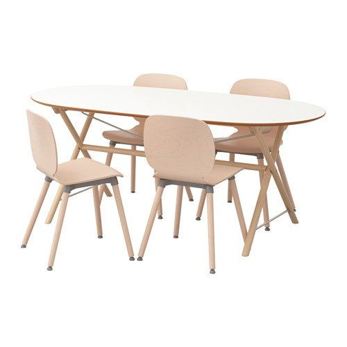 SLAHULT/DALSHULT スレーフルト/ダールスフルト/SVENBERTIL スヴェンベルティル テーブル&チェア4脚