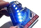 Xiton Reontiger 青 光 で 撃退 ブルー 6 LED スキャン セキュリティ ライト ソーラー 充電 衝撃 感知 A059