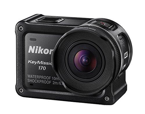 Nikon 防水アクションカメラ KeyMission 170 BK ブラック B01LYJVL75 1枚目