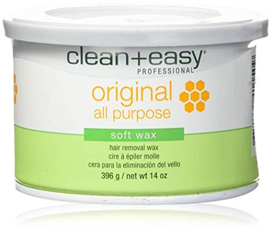 脆いパキスタン人境界Clean + Easy ソフトワックス、 14オンス 元の