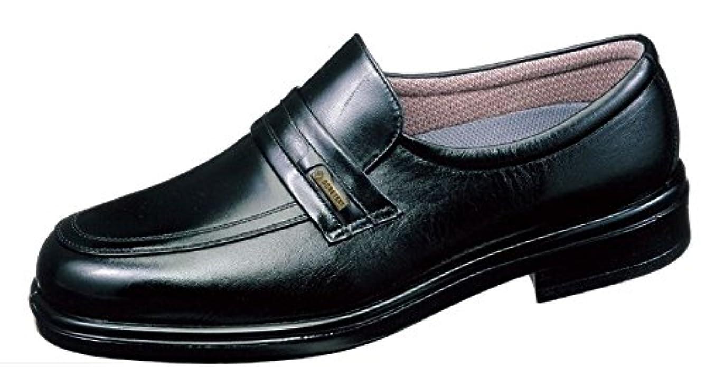 促進する追加援助する通勤快足 TK31-26 ブラック(足囲4E) 雨に負けない爽快ビジネスシューズ 濡れない。蒸れにくい。滑りにくい。男性用デザイン。