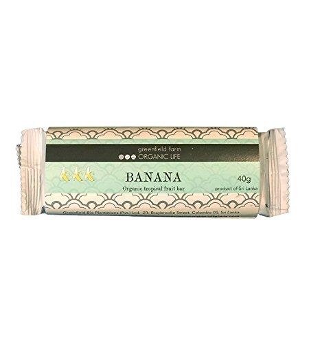 【バナナ 3本入】 グルテンフリー ビーガン系 キャラメル フルーツバー(低GI)(USDA organic) スリランカ産