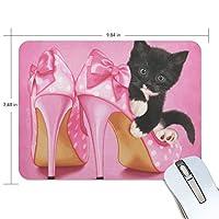 マウスパッド かわいい猫 ゲーミングマウスパッド 滑り止め 19 X 25 厚い 耐久性に優れ おしゃれ