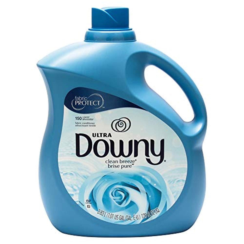 [ ダウニー ] ウルトラ[ ダウニー ] 3.8L 香り 洗剤 服 クリーンブリーズ P&G Downy US [並行輸入品]