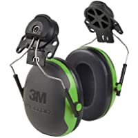 【並行輸入品】3M Peltor X-Series Cap-Mount Earmuffs NRR 21 dB One Size Fits Most Black/Green X1P3E (Pack of 1)