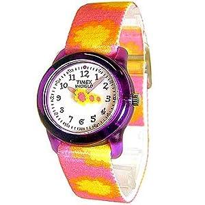 TIMEX(タイメックス) キッズ アナログ カラーインディグロ デイジー T7B031