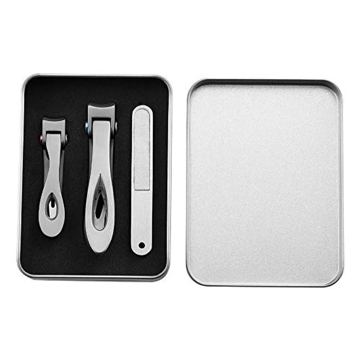 コジオスコヒープ暫定パースステンレス鋼の爪切りは、卸売サイトで大きな厚い爪切りと小さな爪具を設定します
