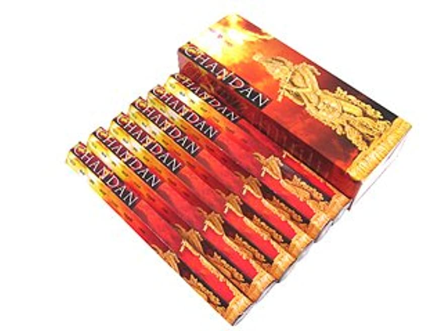 チョーク民主党黙PADMINI(パドミニ) パドミニ チャンダン香 スティック CHANDAN 6箱セット