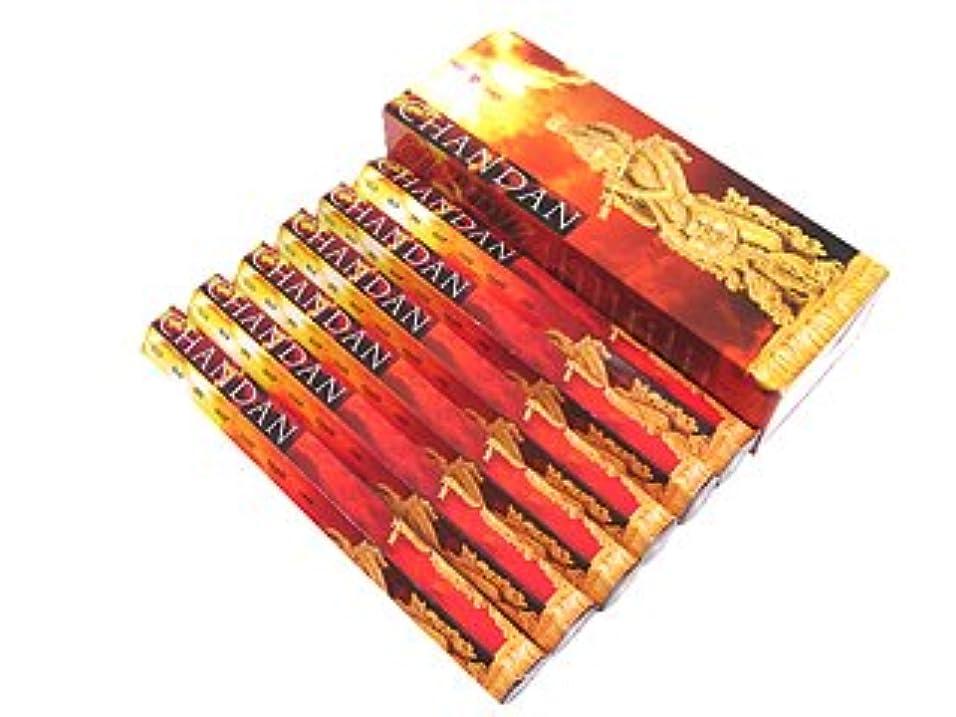 恐れるローブガチョウPADMINI(パドミニ) パドミニ チャンダン香 スティック CHANDAN 6箱セット