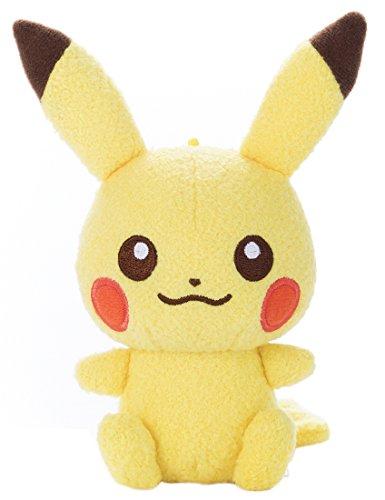 [해외]포켓 몬스터 내 첫 포켓몬 빨 인형 피카츄 높이 16.5cm/Pocket Monster My First Pokemon Plushable Plush Pikachu Height 16.5 cm