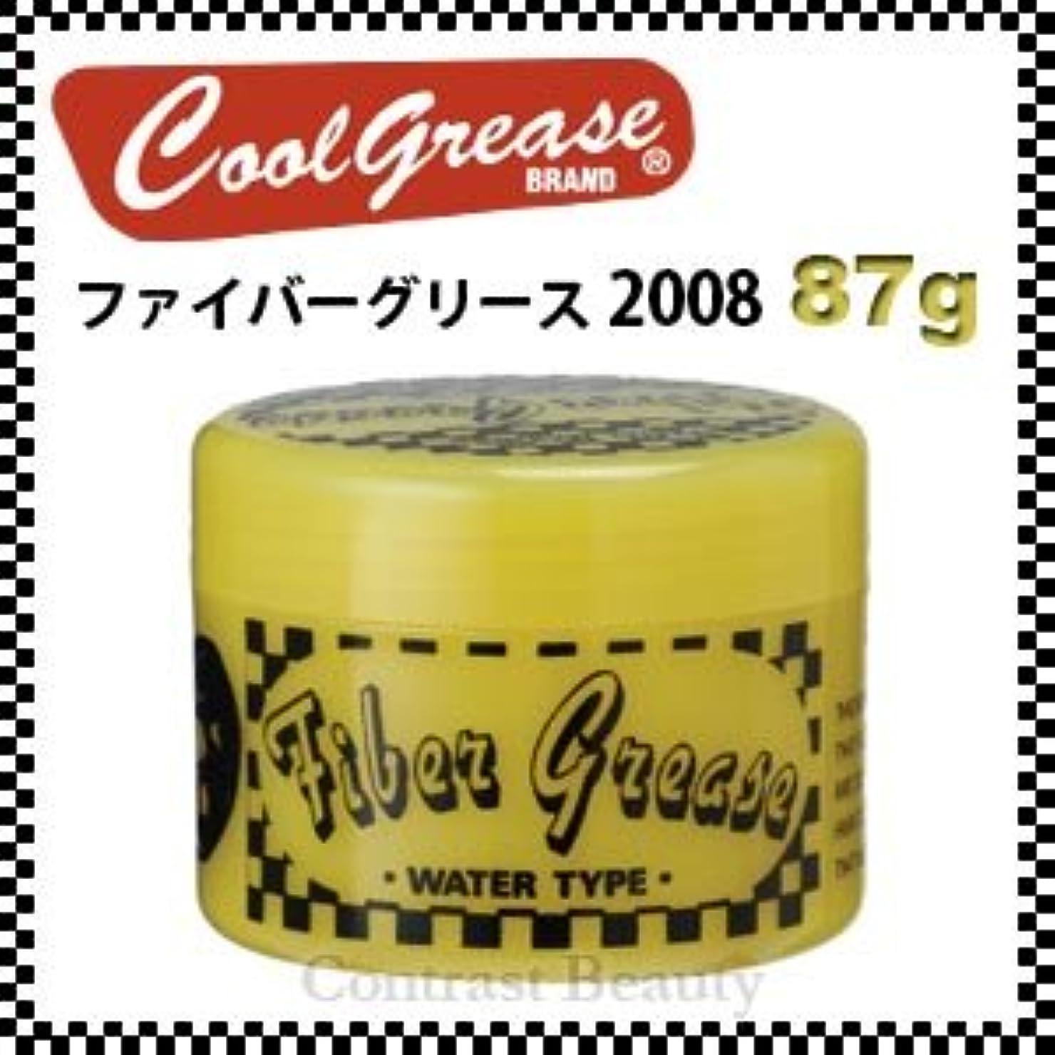 抑制する逃す威する【X3個セット】 阪本高生堂 ファイバーグリース 2008 87g
