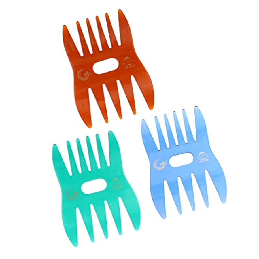 DYNWAVE ヘアコーム メンズ ヘアコーム 荒歯 ヘアケア 頭皮マッサージ 静電気防止 耐熱 美容院 家庭