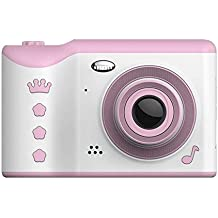 2020 boys and girls children's day birthday gift multifunctional children's camera 1080P high-definition digital camera, easy to carry and operate, learn sports camera, cultivate hobbies, not addicted to mobile games.