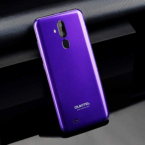OUKITEL C12 PRO 4G SIMフリースマートフォン本体-6.18インチHD 全画面 19:9ディスプレイ Android 8.1 携帯電話本体 デュアルSIM(Nano) MTK6739 クアッドコア 2GBRAM+16GBROM 8MP+2MP リアデュアルカメラ 5MP フロントカメラ 指紋認識 顔認証 3300 mAh バッテリー【一年保証】 (紫)-10