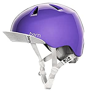 【BERN】バーン/NINA summerモデル 耳あてなし キッズヘルメット ガールズ ZIPMOLD/ニーナ bike skate 自転車 スノー スケート 女の子向け kids 10-VJGGPUV S-M