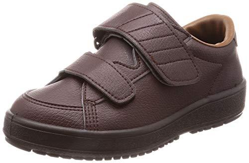 [ムーンスター] ムーンスター メンズ/レディース リハビリ 介護靴 Vステップ03 (両足同サイズ) Vステップ03(両足同サイズ) ブラウン 23 cm 3E