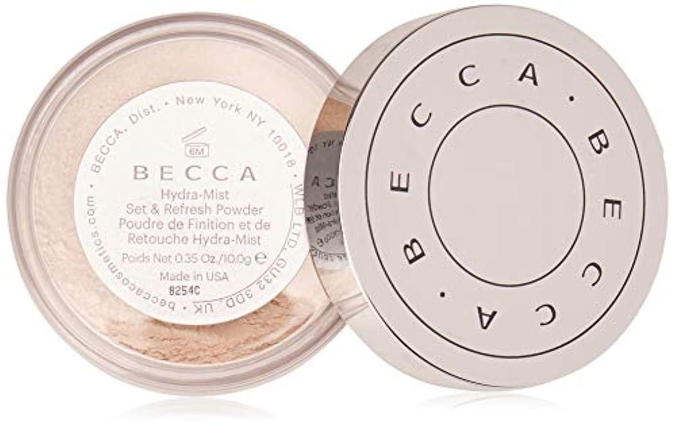 ハード純度慰め【ベッカ】Becca Hydra-Mist セット&リフレッシュ フェイスパウダー [水パウダー]