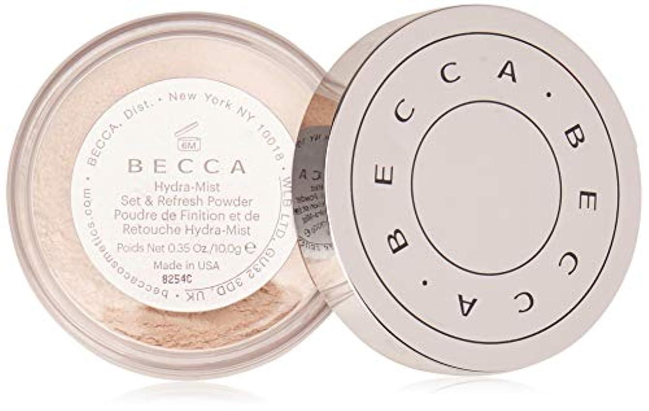 もし嫌がる地図【ベッカ】Becca Hydra-Mist セット&リフレッシュ フェイスパウダー [水パウダー]