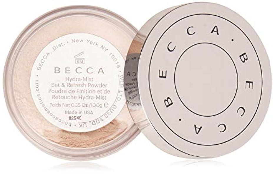 ワット集団たぶん【ベッカ】Becca Hydra-Mist セット&リフレッシュ フェイスパウダー [水パウダー]