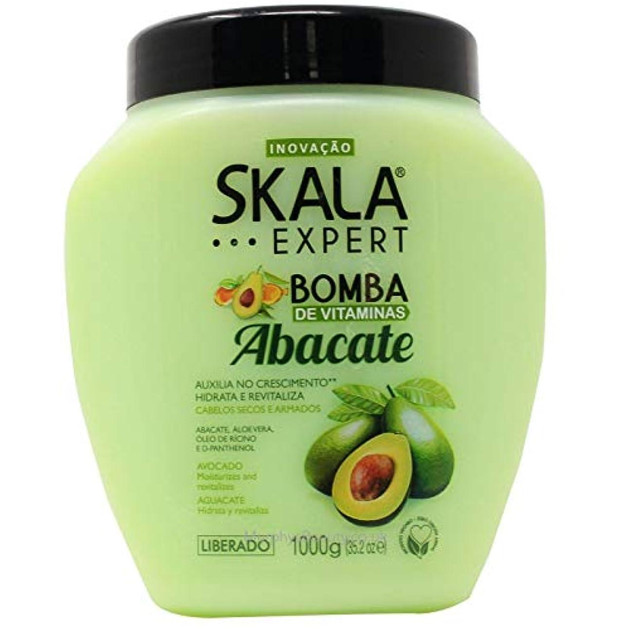 ベンチャー鈍い銀行Skala Expert Abacate スカラ エキスパート アボカド ヘアパックトリートメント 1kg