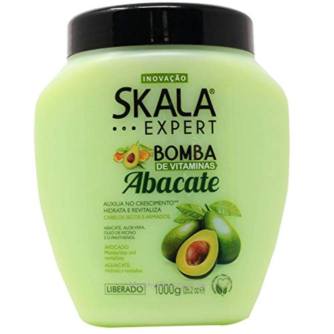 ペダルフック株式Skala Expert Abacate スカラ エキスパート アボカド ヘアパックトリートメント 1kg