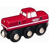 オリジナル木製トレインシリーズ 機関手車両(赤) 50815