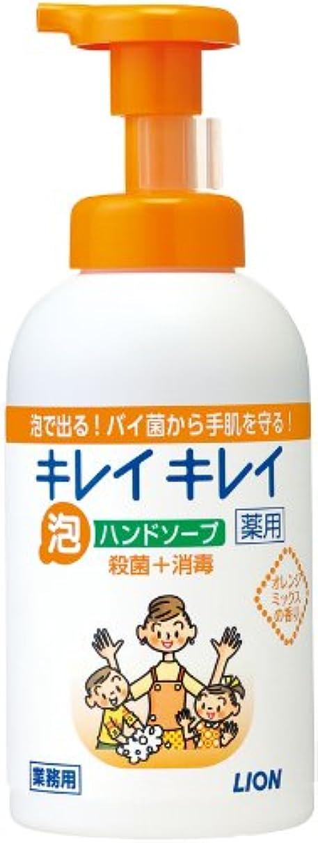 ラップ何でも汚れるキレイキレイ 薬用泡ハンドソープ オレンジミックスの香り 550ml