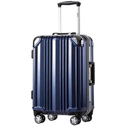 [クールライフ] COOLIFE スーツケース キャリーバッ...