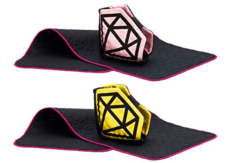 謎蒸発降雨Diamond☆Gift (yellow&pink 2個セット)