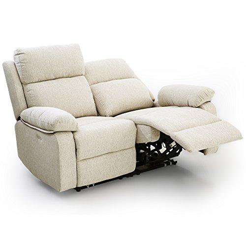 LOWYA リクライニングソファー二人掛け