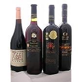 世界の高級フルボディ赤ワイン4本セット【赤ワイン×4・辛口・750ml】
