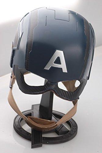 シビル・ウォーキャプテン・アメリカ ヘルメット FRP素材 Lサイズのみ