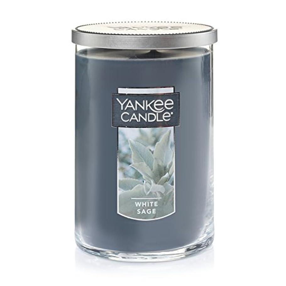 バンジョー手紙を書くドラフトYankee Candleホワイトセージ Large 2-Wick Tumbler Candles 1556031-YC