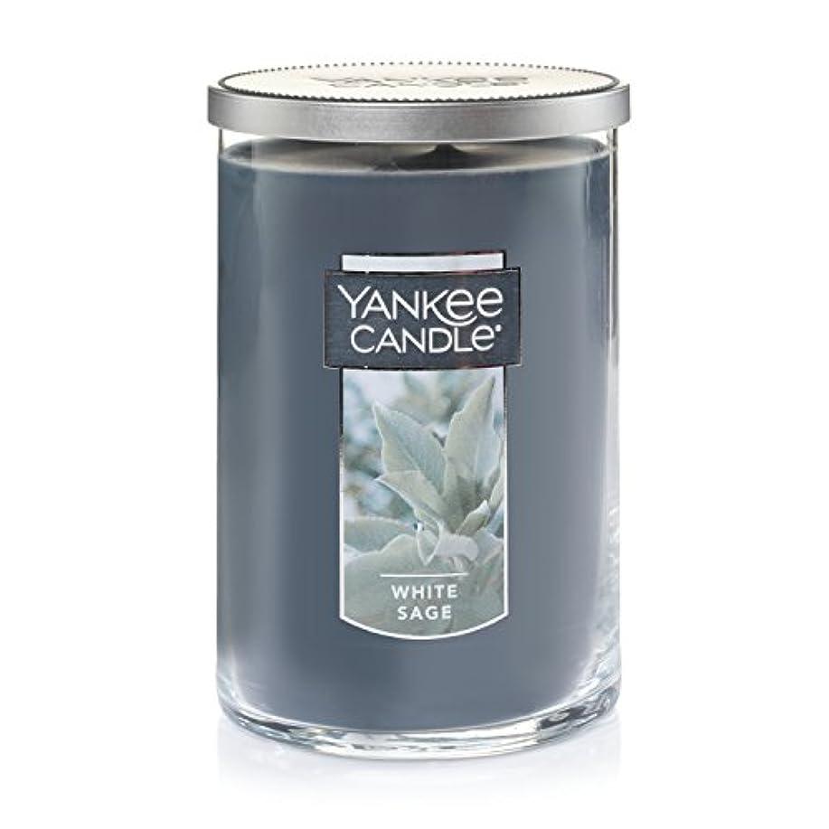 キネマティクス厚さ直感Yankee Candleホワイトセージ Large 2-Wick Tumbler Candles 1556031-YC