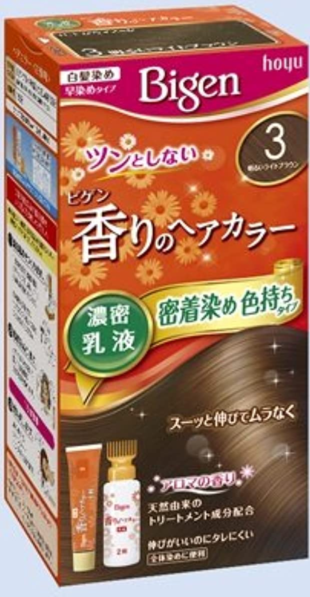 アマチュア有罪ジェーンオースティンビゲン 香りのヘアカラー 乳液 3 明るいライトブラウン × 5個セット