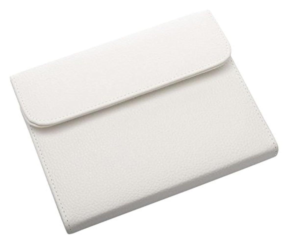 日記オーチャードはげDEEDS 国内シザーケース専門メーカー C6 ホワイト 6丁入 シザーケース
