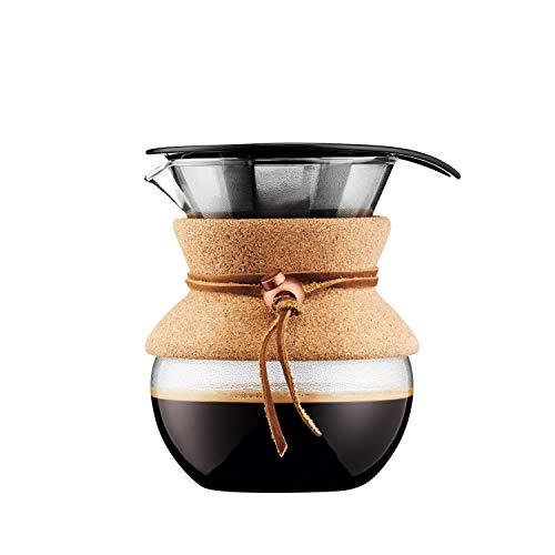 Bodum BODUM ボダム POUR OVER コーヒーメーカー 500ml コルク 金属フィルター 11592-109 [6844]