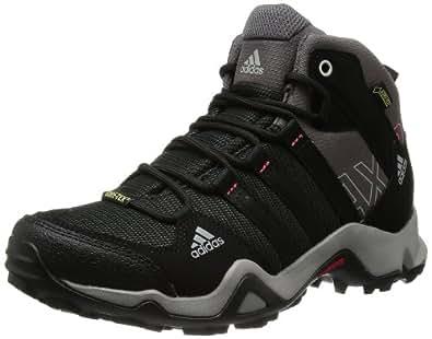 [アディダス] adidas トレッキングシューズ AX2 MID Gore-Tex W EO878 D66497 カーボン S14/ブラック/シャープグレーF11 23.0