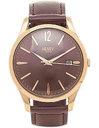 (ヘンリーロンドン) HENRY LONDON ヘンリーロンドン 時計 HENRY LONDON HL39-S-0080 HAMPSTEAD ユニセックス腕時計 ウォッチ パ-プル/ロ-ズゴ-ルド [並行輸入品]